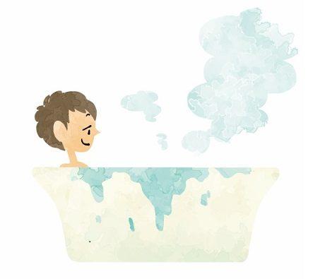 男性のお風呂、入浴